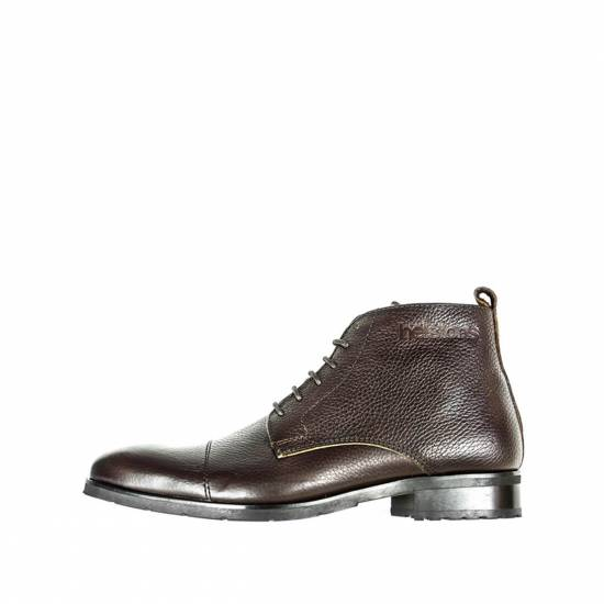 CHAUSSURES HERITAGE CUIR MARRON