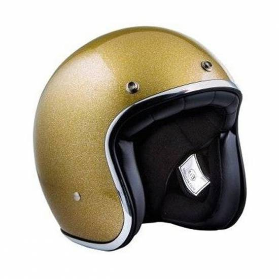 CASQUE PEARL - GOLD PAILLETE