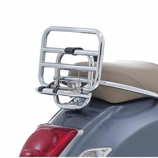Porte-bagages arrière chromé GTS super